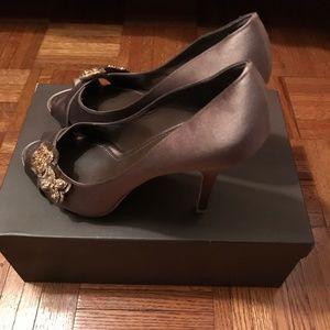 Louis Vuitton Shoes - Louis Vuitton Athen Open Toe Pump - 9 cm